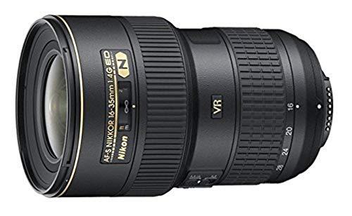 Nikon AF-S 16-35 mm 1:4G ED VR Superweitwinkel-Objektiv (77 mm Filtergewinde, bildstabilisiert) Schwarz