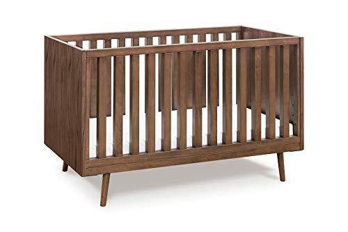 Ubabub Nifty Timber 3-in-1 Crib in Walnut, Greenguard Gold Certified