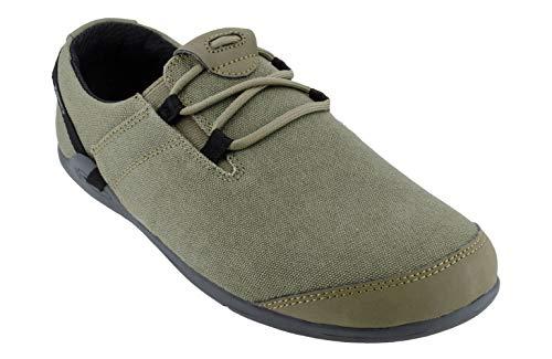Xero Shoes Hana  Men#039s Casual Canvas BarefootInspired Shoe  Burnt Olive