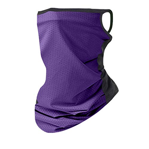 Innerternet Unisex Schlauchtuch Gesichtsmaske Outdoor Sport Halstuch für Damen und Herren,Atmungsaktiv UV Schutz Schlauchschal Joggen Fahrrad Motorrad Halsschlauch Face Shield