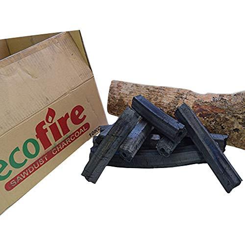 Categoría de restaurante carbón vegetal 1 x 10 KG caja cuando se utiliza en un horno tandoori dura 5x más. -Quemadura lenta-mejor valor que el carbón de leña estándar