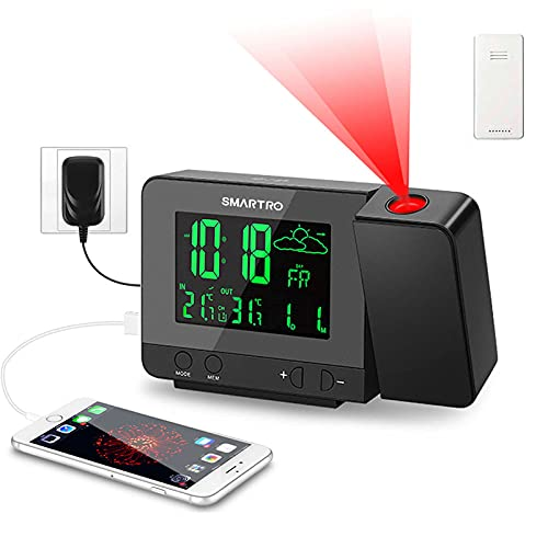 Smartro Projection Alarm And Thermometer
