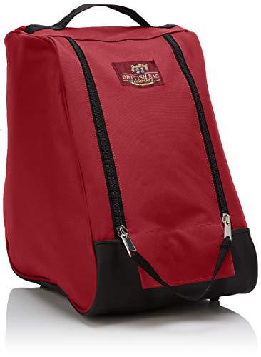 The British Bag Company Herren Navigator Range Geldbörse, Rot (Red), 29x37x11 centimeters