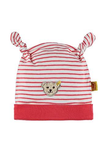 Steiff Baby-Mädchen Mütze, Rot (Hibiscus 2104), 47