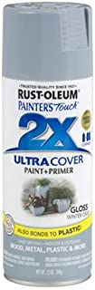 Rust-Oleum 249089 Painter's Touch 2X Ultra Cover, 12-Ounce, Winter Gray