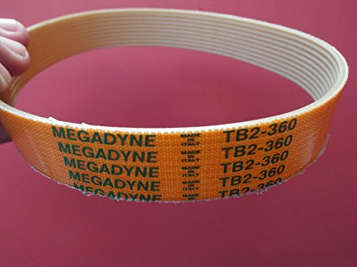 TB2–36010Rib Megadyne Drive Gürtel Backofen Küche Schneide 360mm