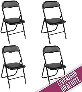 Étonnant Amazon.fr : chaises pliantes pas cher : Jardin YM-58