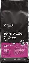 MONTVILLE COFFEE Sunshine Coast Blend Plunger Ground Coffee 1 Kg,
