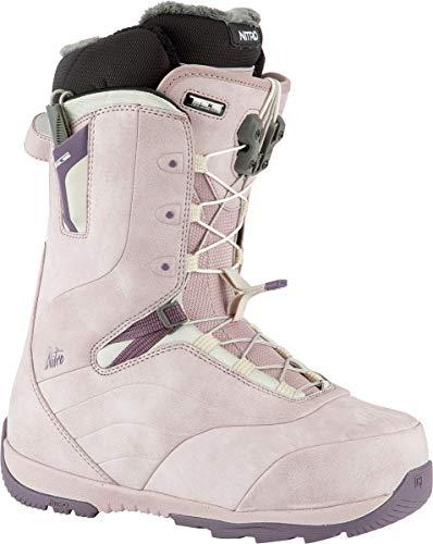 Nitro Crown TLS Boot'21 Bottes de Snowboard pour Femme Rose Violet Taille 250