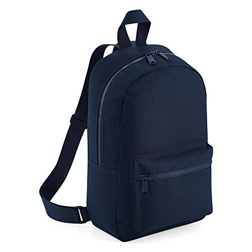 123t BG153 Mini Essential Fashion Backpack - French Navy Blank Plain