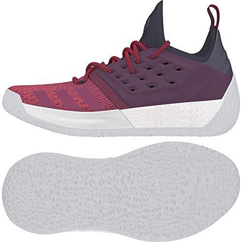 Adidas Harden Vol. 2, Zapatillas de Baloncesto Hombre, Azul (Tinley/Rubmis/Rojnoc 000), 54 2/3 EU