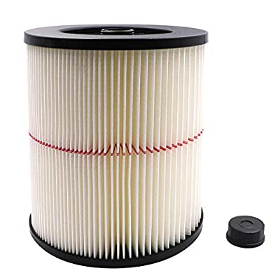 17816 Replacement Filter For Shop Vac Craftsman 9-17816 Wet/Dry Vacuum Cleaner Fit 5 gallon,1 pack