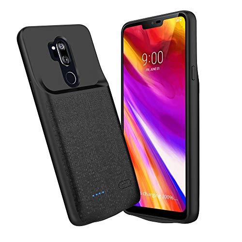 LG G7 Astro della batteria, Newdery portatile estesa del caricatore per LG G7 Astro [nero] -4700 mAh battery pack succo Power Bank cover con porta di ingresso/uscita di tipo