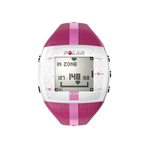 POLAR Damen Sportuhr FT4F Purple Pink Herzfrequenzmessgerät, Einheitsgröße