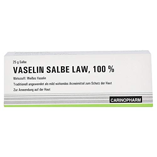 Abanta Pharma Vaselin Salbe LAW 100%, 25 g Salbe