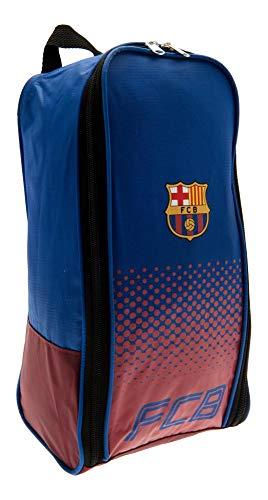 Fade oficial del FC Barcelona con el escudo del zapato/bolsa para botas