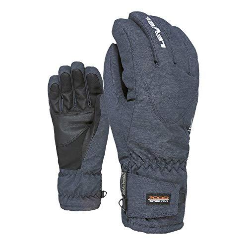 Level Alpine Gants d'hiver pour Homme Bleu/Gris Taille 10/XXL