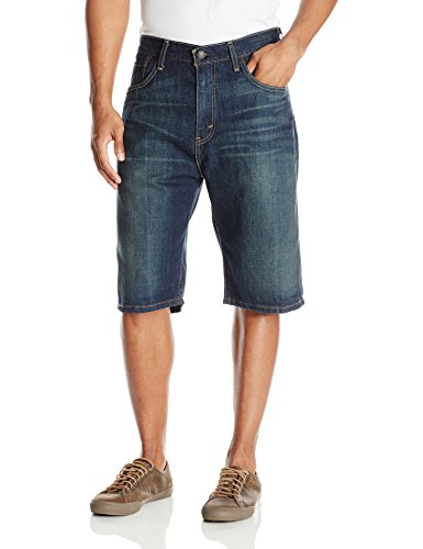 Levi's Men's 569 Loose Straight Denim Shorts, Springstein, 30