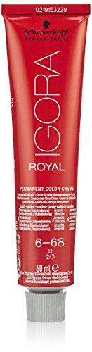 Schwarzkopf IGORA Royal Premium-Haarfarbe 6-68 dunkelblond schoko rot, 1er Pack (1 x 60 g)