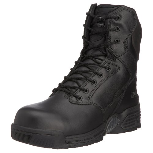Magnum Stealth Force 8.0 Leather CT CP, Botas de Moto Unisex, Negro, 35.5 EU