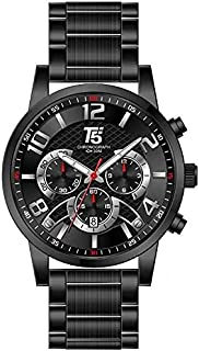 T5 H3523G-E Analog Stainless Steel Watch for Men