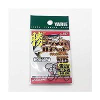 YARIE(ヤリエ) No.567 アジメバ勝ヘッドND ビーズ #6 フック
