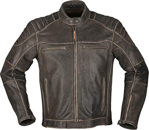 Modeka Vincent Aged Motorrad Lederjacke Braun XL