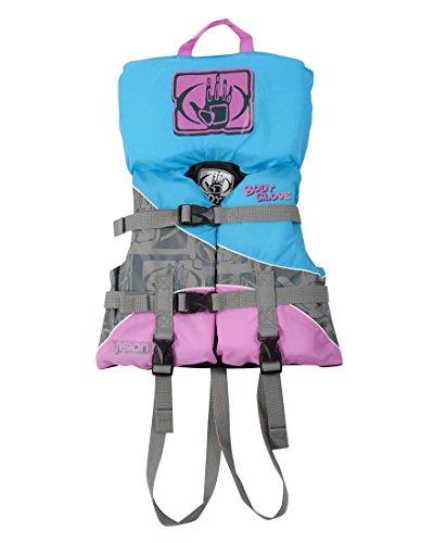 Vision Infant Nylon USCGA Vest - Infant- Silver & Blue - Water Life Jacket Vest for Extreme Sports Boat Kayak Paddling Use and Safety Sports Vests for Boys and Girls