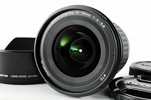 Olympus 9-18 mm f/4.0-5.6 ED Zuiko Digital - Objetivo para Cuatro tercios, Distancia Focal 9-18 mm, Apertura f/4, Color Negro