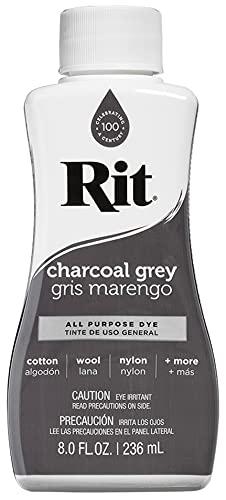 Rit All-Purpose Liquid Dye, Charcoal Grey