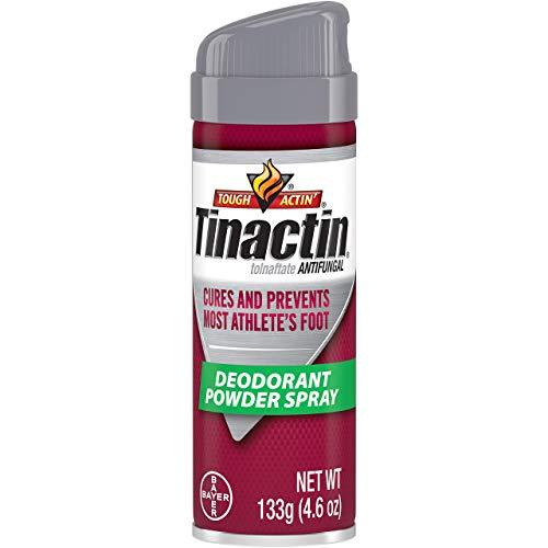 Tinactin Antifungal Deodorant Powder Spray 4.60 oz (Pack of 2)