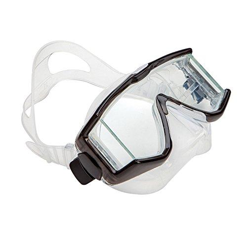 """XS Scuba """"Fusion Premium-Tauchmaske mit Ausblasventil und Panoramascheiben (Blau)"""