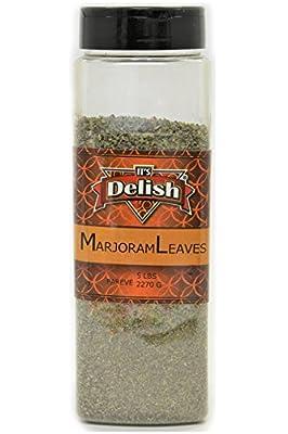 Marjoram Leaves by Its Delish, 5 Oz. Large Jar
