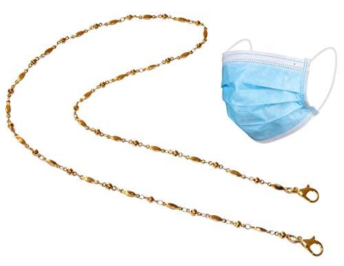 Máscara De Oro  marca Hidden Hollow Beads