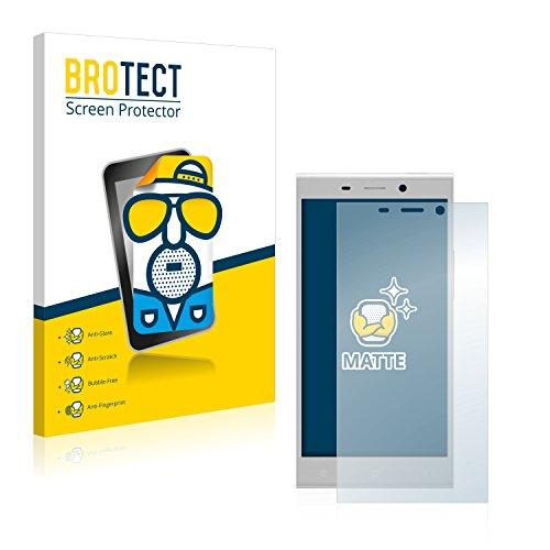 BROTECT 2X Entspiegelungs-Schutzfolie kompatibel mit Gionee Elife E8 Bildschirmschutz-Folie Matt, Anti-Reflex, Anti-Fingerprint
