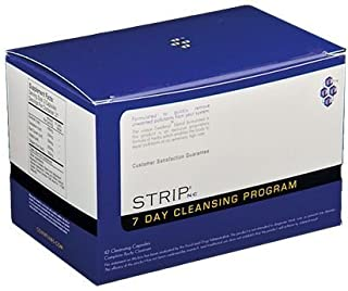 5 Pack - Strip Nc 7 DAY Detox Cleansing Program 42 Caps with Free Im Baked Bro and Doob Tubes Sticker