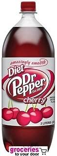 Dr. Pepper Cherry Diet Soda, 2-Liter Bottle (Pack of 6)