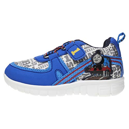 Thomas and Friends Toddler Boy Sneakers ; Boys' Athletic Shoes in Blue