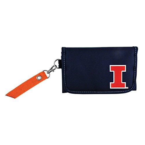 Littlearth NCAA Illinois Fighting Illini Ribbon Organizer Wallet