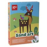 APLI Kids - Sand art, juego para decorar y colorear con arena