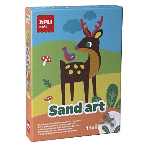 APLI Kids - Sand art, juego para decorar y colorear con arena