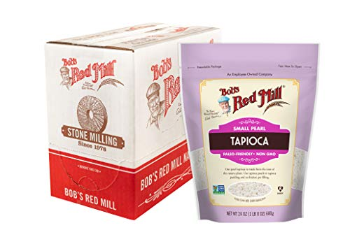 Bob's Red Mill Small Pearl Tapioca, 24-ounce (Pack of 4)