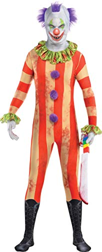 Amscan 844495-55 - Kostüm Horror-Clown, Overall, Maske, Killer, Zombie, Mottoparty, Karneval, Halloween