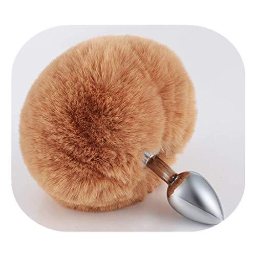 Juguete de masaje para principiantes de cola de conejo artificial - Regalo...