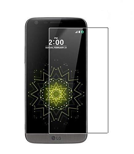 WEOFUN 3 Unidades Protector de Pantalla LG G5, Anti-arañazos Cristal Vidrio Templado para LG G5 H850 Protector 5.3'' [0.33mm, 9H, Borde Redondo 2.5D]