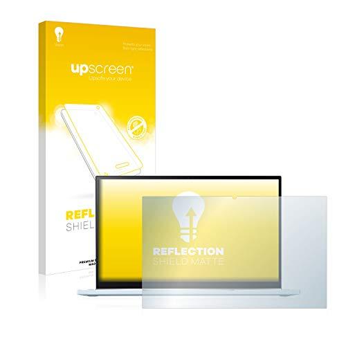 upscreen Reflection Shield Matte Bildschirmschutz Schutzfolie für Asus Chromebook Flip C433 2-in-1 (matt - entspiegelt, hoher Kratzschutz)