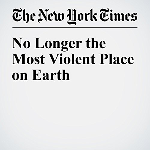 No Longer the Most Violent Place on Earth audiobook cover art