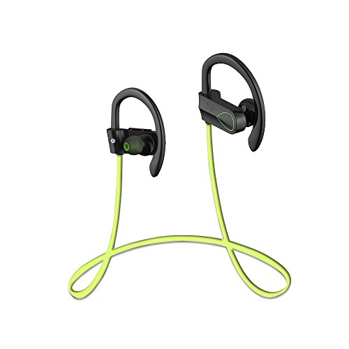 Bluelover Cx-2 Auriculares Inalámbricos Bluetooth 4,1 Sport Music Auriculares para iPhone Samsung - Verde