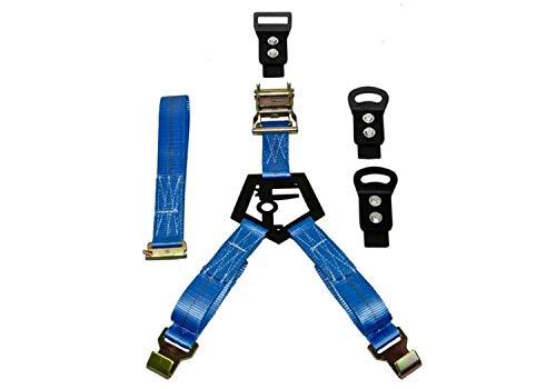 N-Fab BM1TSBL Rapid Tire Strap Universal Bed Mount Gloss Blue