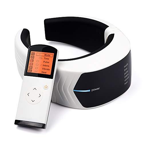 BKMWL Elektro-Impuls-Nackenmassagegerät Halswirbel-Impuls Massage Physiotherapeutische Akupunktur Magnetfeldtherapie Schmerzlinderung Werkzeug